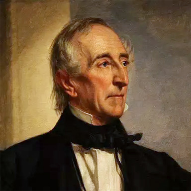 U. S. president and spouse John Tyler