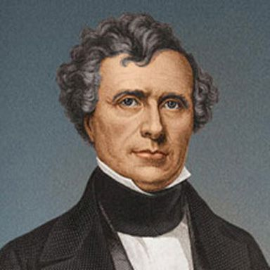 U. S. president and spouse Franklin Pierce