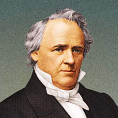 U. S. president and spouse James Buchanan