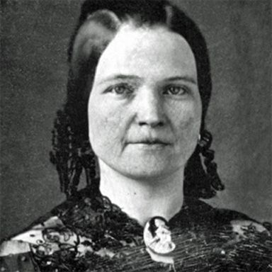U. S. president and spouse Mary Ann Todd Lincoln