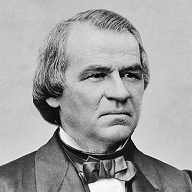 U. S. president and spouse Andrew Johnson