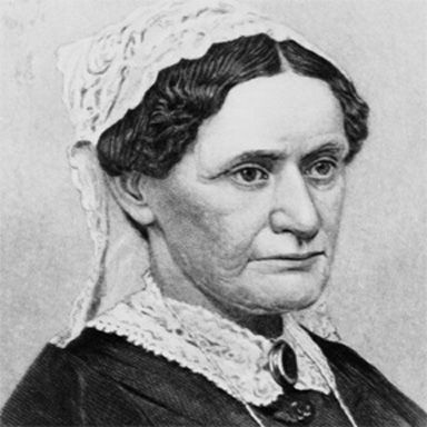 U. S. president and spouse Eliza McCardle Johnson