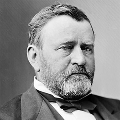 U. S. president and spouse Ulysses Simpson Grant