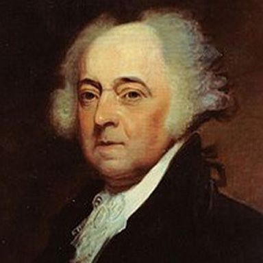 U. S. president and spouse John Adams