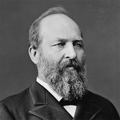 U. S. president and spouse James Abram Garfield