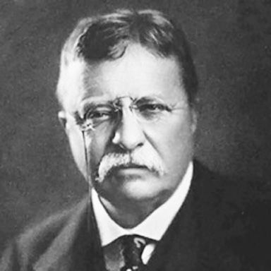 U. S. president and spouse Theodore Roosevelt
