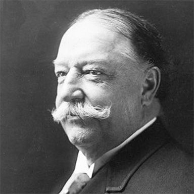 U. S. president and spouse William Howard Taft