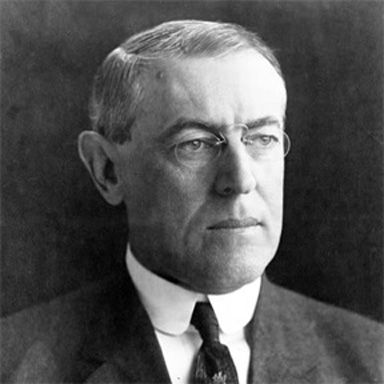 U. S. president and spouse Thomas Woodrow Wilson