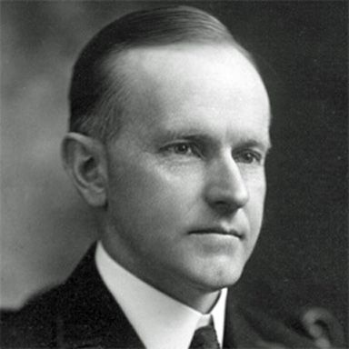 U. S. president and spouse John Calvin Coolidge