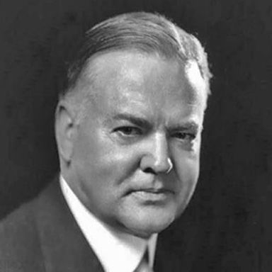 U. S. president and spouse Herbert Clark Hoover