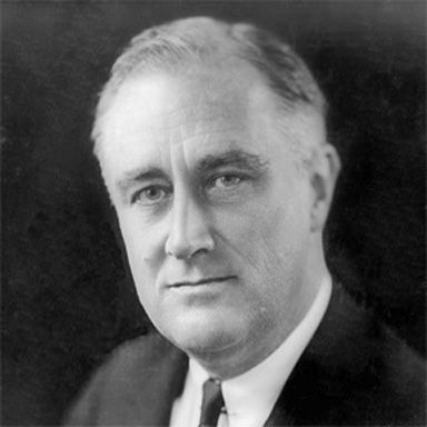 U. S. president and spouse Franklin Delano Roosevelt