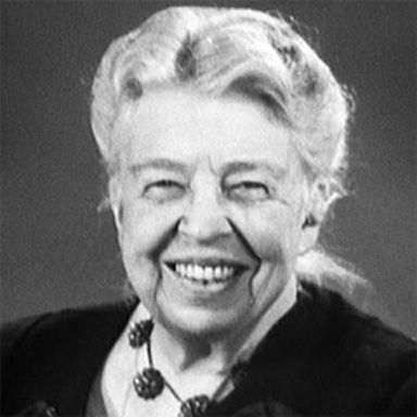 U. S. president and spouse Anna Eleanor Roosevelt