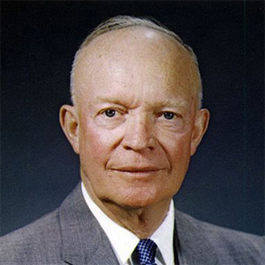 U. S. president and spouse Dwight David Eisenhower