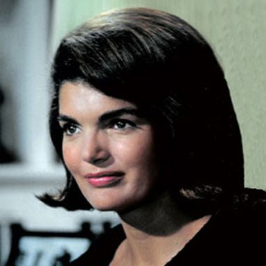 U. S. president and spouse Jacqueline Bouvier Kennedy