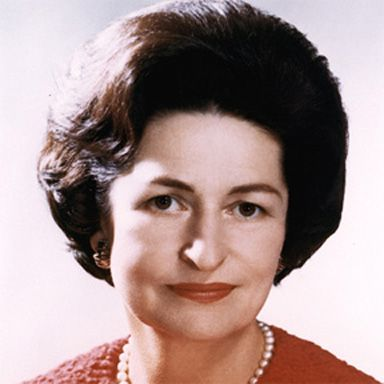 "U. S. president and spouse Claudia Alta  Lady Bird"" Johnson"