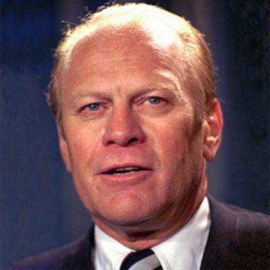 U. S. president and spouse Gerald Rudolph Ford