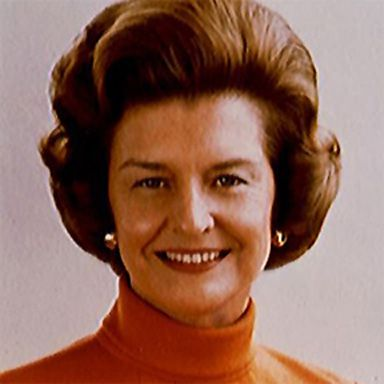 "U. S. president and spouse Elizabeth Anne ""Betty"" Ford"