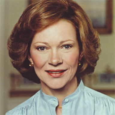 U. S. president and spouse Eleanor Rosalynn Smith Carter