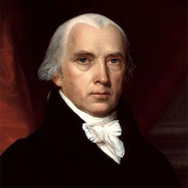 U. S. president and spouse James Madison