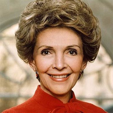 U. S. president and spouse Nancy Davis Reagan, nee Anne France