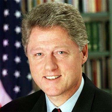 U. S. president and spouse William Jefferson Clinton