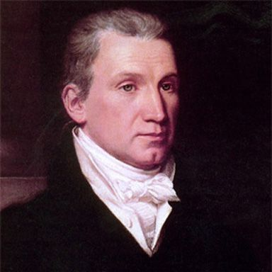 U. S. president and spouse James Monroe