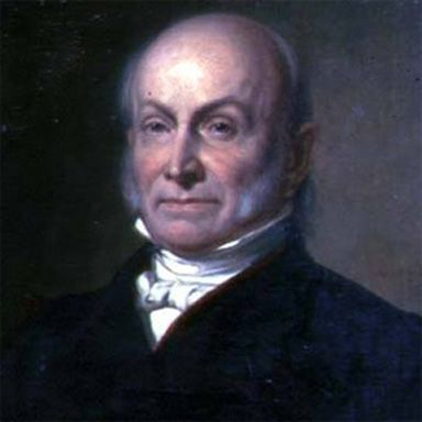 U. S. president and spouse John Quincy Adams