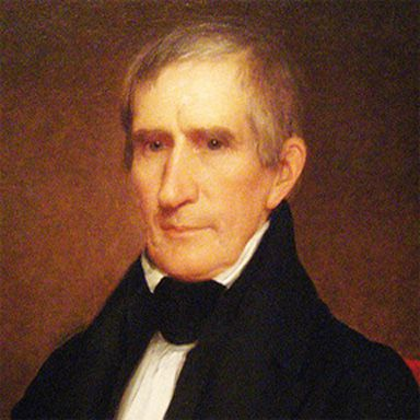 U. S. president and spouse William Henry Harrison