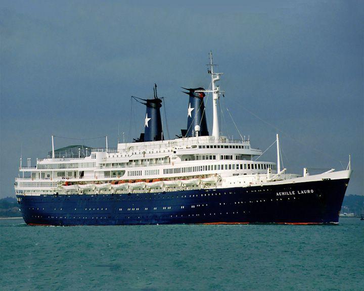 famous ships, Achille Lauro ship