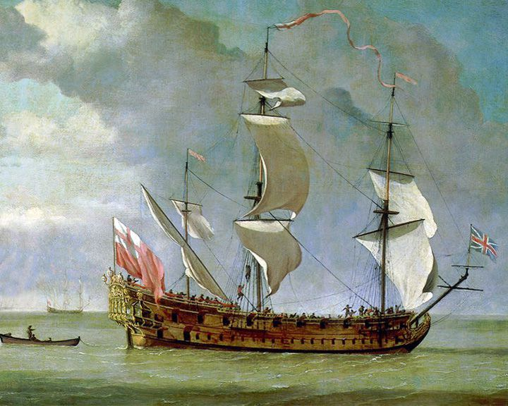 famous ships, Adventure Galley ship