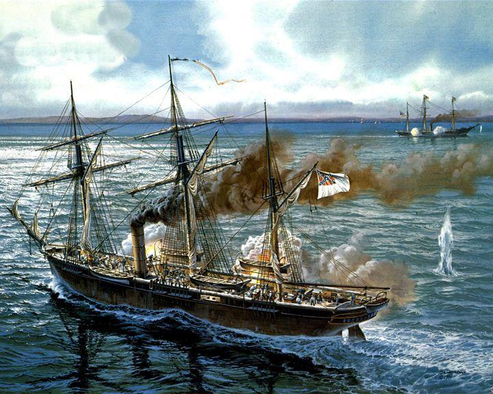 famous ships, CSS Alabama