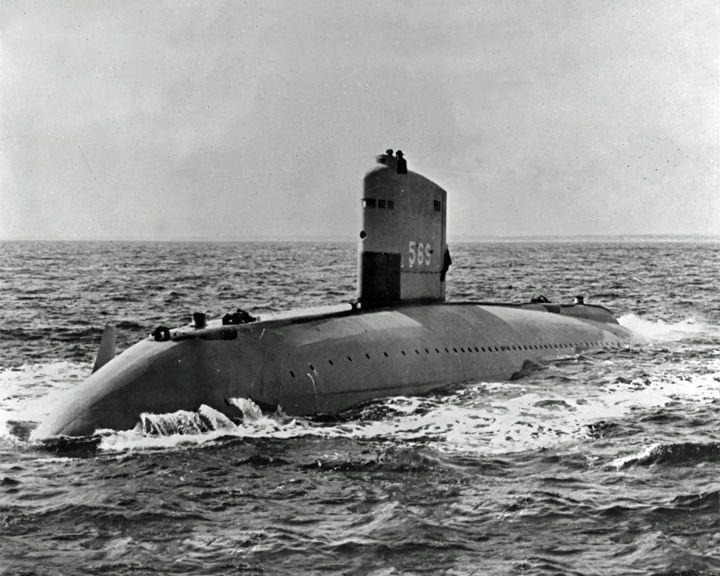 famous ships, USS Albacore