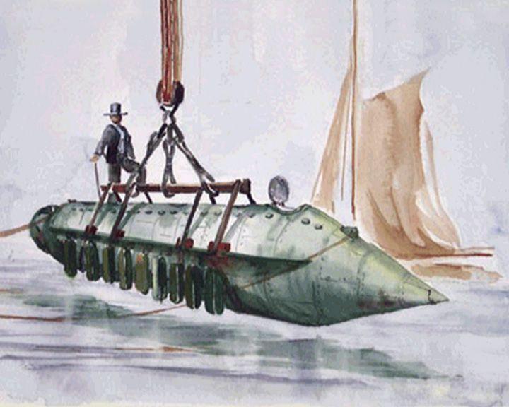 famous ships, Alligator submarine