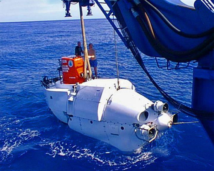 famous ships, DVS Alvin submersible