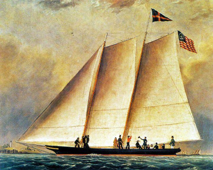 famous ships, America racing yacht