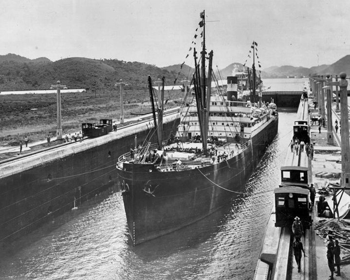 famous ships, Ancon steamship