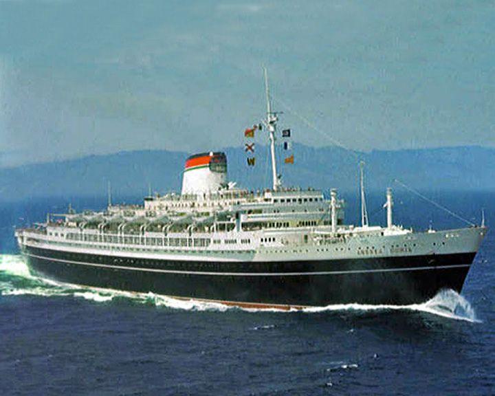 famous ships, SS Andrea Doria