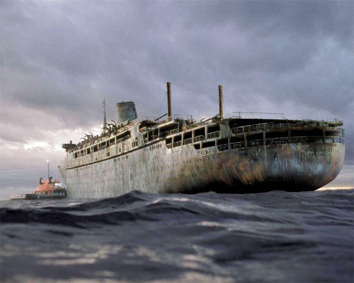 famous ships, Antonia Graza ghost ship
