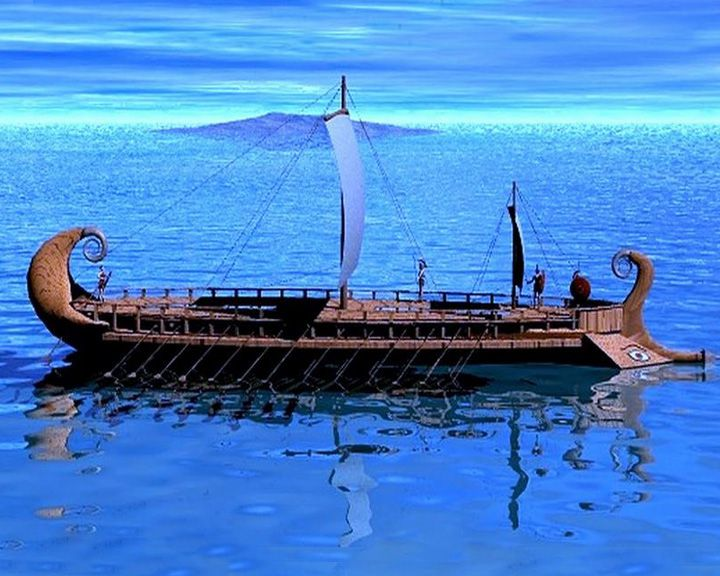famous ships, Argo galley ship