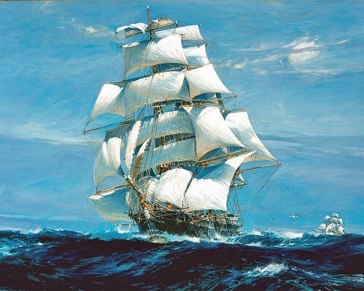 famous ships, Ariel clipper ship