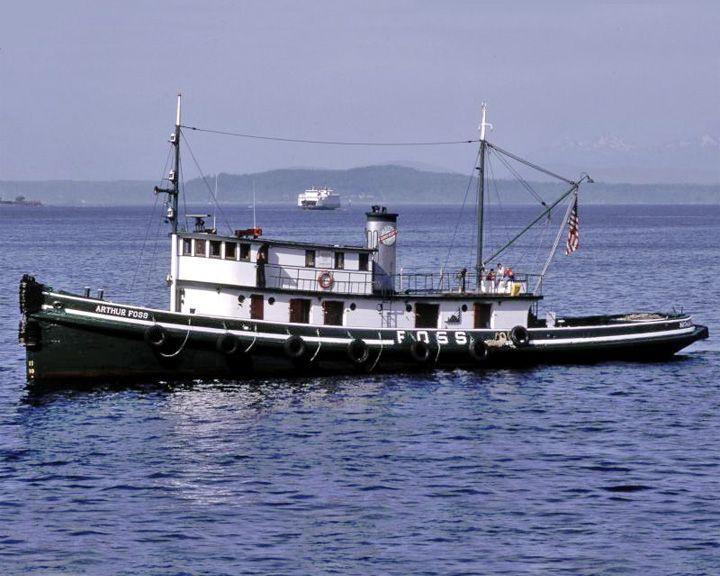 famous ships, Arthur Foss tugboat