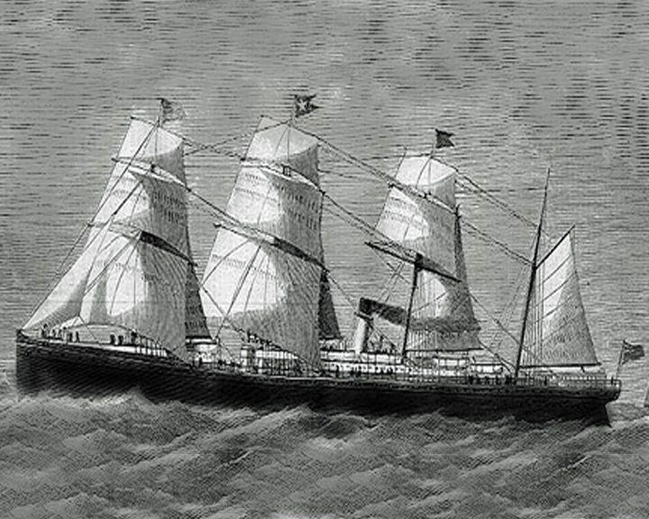 famous ships, RMS Atlantic