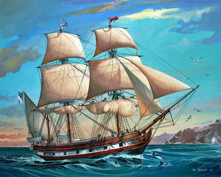 famous ships, Beagle sloop