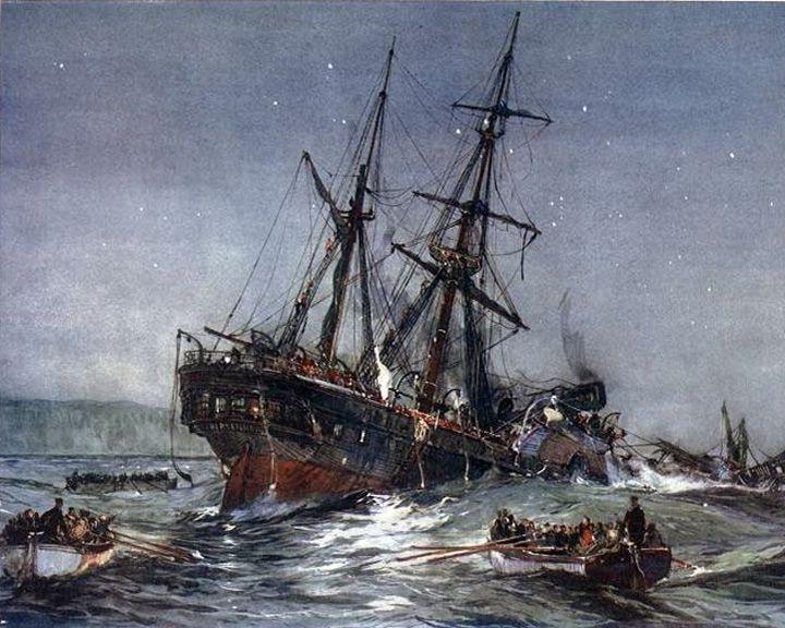famous ships, HMS Birkenhead