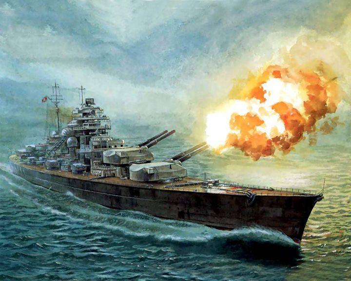 famous ships, Bismarck battleship