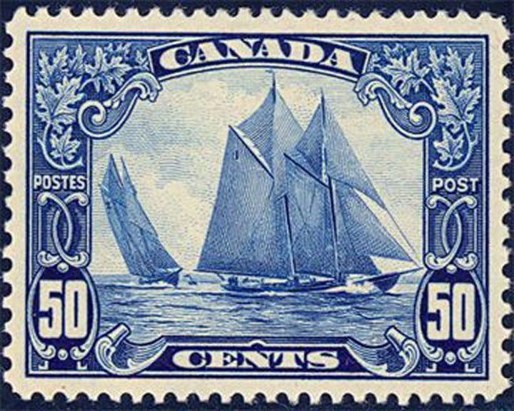 famous ships, Bluenose schooner
