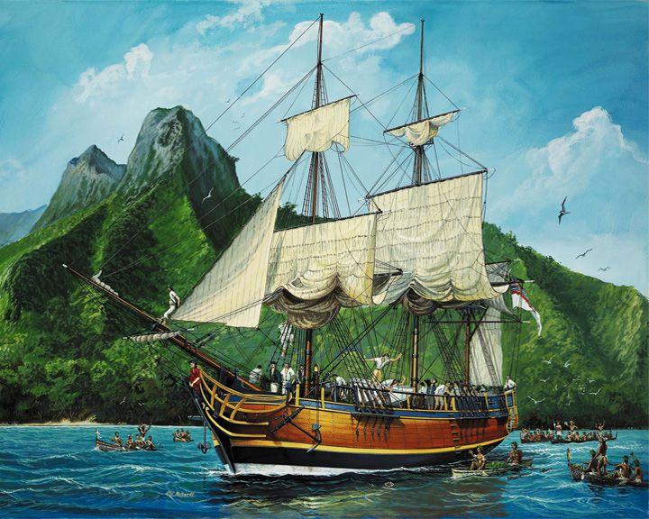 famous ships, HMS Bounty