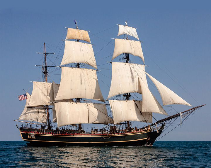 famous ships, Bounty (replica)