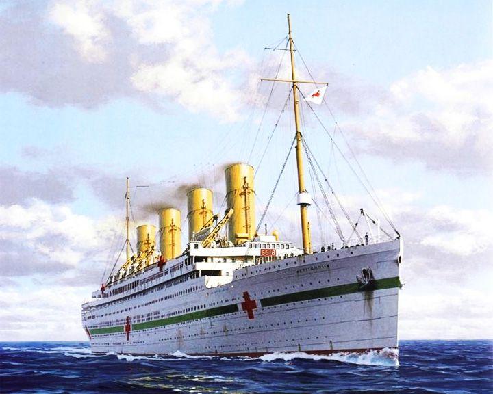 famous ships, HMHS Britannic