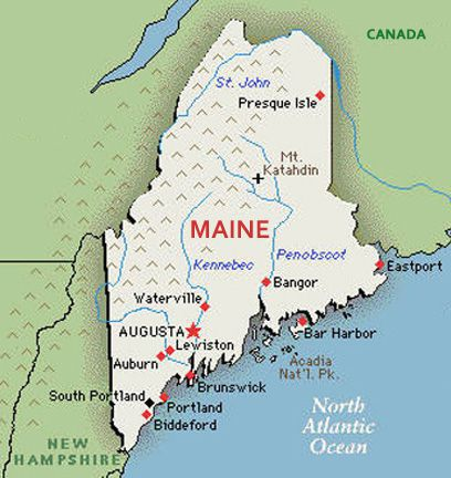 US States Renamed - Auburn us map